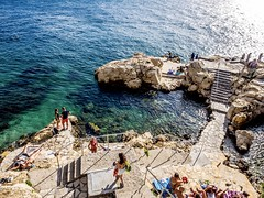 Enjoying Sommer at the Adria (TomasCP82) Tags: rovinj istria croatia adria sun see water cristal olympus omd