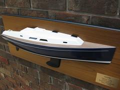 Hanse 370e (ZumaBoat) Tags: scale sailboat boat model yacht zuma e half 12 hull hanse vrolijk judel halfhull hanse370e hanse370 zumaboat 370e hanse370ehalfhullmodel