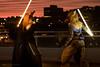 P1190199 (Kiba Wolf) Tags: starwars force outdoor jedi clockwork sith tierney fursuit lightsabre anthrocon starwing clockworkcreatures ac2016