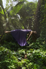 Letting Go (Pan Tau's Apprentice) Tags: flying levitation dreaming jungle serene lucid magical dreamscapes lucidity lightnessofbeing dreamseries luciddreamer