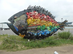 Black Porgy in Uno Port (Stop carbon pollution) Tags: honshuu japan okayamaken setouchiarttriennial teshima