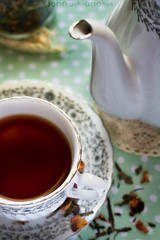 Tea (johnsikianakis) Tags: food foodphotography foodstyle foodstyling foodphoto tea coffee afternoon ind light dark moody style styling teapot tasrty taste healthy organic