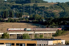 ETR460 30 + E402 117 & Euronight 235 (Samuele Poli - SierraAlpha photos) Tags: etr460 30 pendolino frecciabianca romagenova euro night 235 wien munich rome florence e402 117 e402b xmpr international train direttissima romafirenze incisa valdarno