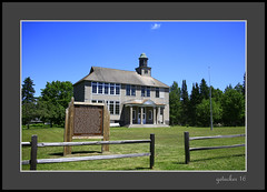 Historic Schoolhouse Gay MI UP (the Gallopping Geezer 3.8 million + views....) Tags: building structure historic old antique gay mi michigan upperpeninsula smalltown backroads rural canon 5d3 tamron 28300 geezer 2016 school education saved restored preserved notinuse historical