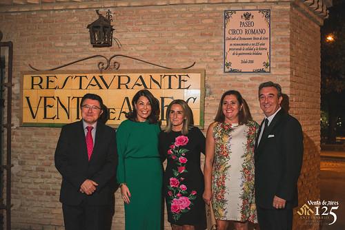 Teo, Milagros Tolón, ROsa Ana Rodríguez y Cuca Díaz de la Cuerda.