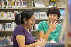 160909_Karen Burgan and student_006 (Pima County Public Library) Tags: elriolibrary pimacountylibrary instruction adulteducation ged continuingeducation adulttraining jobtraining library d5