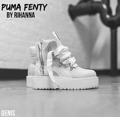 Puma fenty  (mon monde a moi il n'y aurait que des divagations) Tags: newlove jeveux limit pumasneaker suede chaussure fashion style shoes sneakersboots boots sneakers rihanna pumafentybyrihanna pumafentyrihanna pumafenty puma