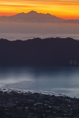 Rinjani Peaks from Mount Batur (Pandu Adnyana Photography Tour) Tags: baliphotographytour baliphotographyguide balitravelphotography balilandscapephotography balilandscapetour balilandscape bali indonesia batur mount lake sunrise dawn valley