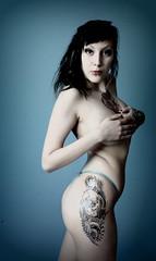 Alien fetus (HardcorePuppet) Tags: tattoo angel heart dolphin bites klara inked lullaby motorhead tatt