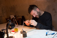 photoset: VIENNA ART WEEK: Open Studio Day (22.11.2014)