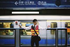 Taipei Metro (Wang,Li-Heng) Tags: street leica film 35mm fuji metro voigtlander taiwan 400 taipei m6 f12 xtra