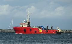 Offshore-Versorgungsschiff HANS M in Rostock-Warnemünde