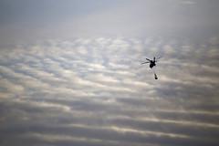 Coast Guard Chopper (Denis Moynihan) Tags: sky irish clouds coast chopper guard helicopter