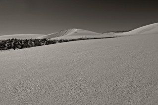 White Sands - Snow Landscape (Edited)