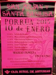 """Ya suenan los cohetes....hoy día grande en Porrúa!!...celebrando el día de nuestros patronos, San Julián y Santa Basilisa. Estais todos invitados!! • <a style=""""font-size:0.8em;"""" href=""""http://www.flickr.com/photos/41424175@N07/15622478724/"""" target=""""_blank"""">View on Flickr</a>"""