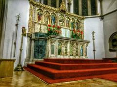 St Joseph's, Fishponds, high altar (johnpaddy22) Tags: church catholic altar marble