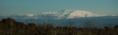 Mt. Hermon with Snow