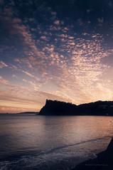 Teignmouth (Bruus UK) Tags: autumn light sunset sky sunlight reflection beach clouds landscape evening coast sand marine pentax dusk tide radiance wave coastal devon groyne headland teignmouth shaldon theness