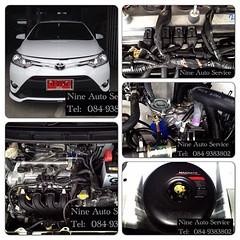 Toyota Vios หัวฉีด Versus OBD ถัง Donut 42 L  สามารถชมงานติดตั้งแก๊ส LPG นัดคิวติดตั้ง ตรวจเช็คระบบ ปรับจูน  ได้ที่ Nine Auto Service  ลำลูกกา คลอง 6 โทร 084-9383802 http://www.facebook.com/nineautoservice.2011