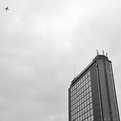 #palazzolancia ($t) Tags: bw architecture skyscraper square torino squareformat grattacielo palazzo turin architettura bnw palazzolancia iphoneography grattacielolancia instagramapp uploaded:by=instagram