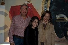 1.- Pepe Elías Leal, Elvira Mendoza y Elías y María José Elías Mendoza.