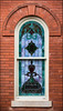 The Single Window (gtncats) Tags: brick church window stainedglass canon70d photographyforrecreation infinitexposure