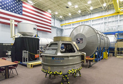 Cupola & ISS Module Mockups