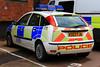 Northamptonshire Police Ford Focus Incident Response Vehicle (PFB-999) Tags: ford car lights northampton focus northamptonshire police headquarters vehicle bulbs hq irv beacons incident northants hatchback workshops response unit lightbar rotators parcelshelf ks03fja