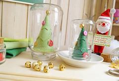 PAP rvore de Natal Craft - Feltro (com molde) (BoniFrati) Tags: tree cute natal diy craft rvore tutorial pap molde passoapasso bonifrati craftchristmas natalcraft