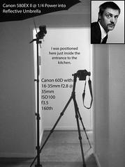 Bourke's Moustache - Setup (Scruba Images) Tags: lighting light flash movember setup strobe settings bts lightingsetup offcamera