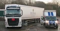 Hypnos Volvo FH December 2014 (Bristol Viewfinder) Tags: mercedes cement mixer argos daf hypnos ipl