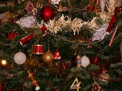 Decorated Tree (madlily58) Tags: christmas decorations holiday festive christmastree tinsel baubles