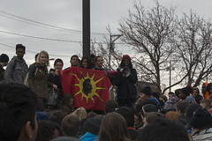 Minneapolis South High School protests the Ferguson grand jury ruling on the Michael Brown killing (Fibonacci Blue) Tags: minnesota march photo student protest picture minneapolis demonstration event mpls photograph twincities activism mn ferguson activist michaelbrown southhigh mikebrown grandjury furguson shutitdown darrenwilson fibonacciblue tcshutitdown