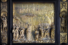 Ghiberti, Gates of Paradise, Joshua panel