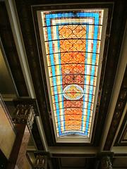 Tiffany Glass Skylight (Dry Heat2009) Tags: glass hotel az douglas tiffany gadson