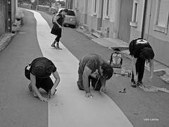 Efeito Teatrão (verridário) Tags: street bw white black monochrome branco teatro mono photo pessoas noir foto gente theatre sony negro preto rua rue bianco nero h9 mondego montemorovelho teatrão verride
