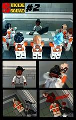 Suicide Squad #2: Assembled (-{Peppersalt}-) Tags: amanda dc comic lego group suicide story batman characters dccomics squad stories scenes superheros villians waller deadshot peppersalt