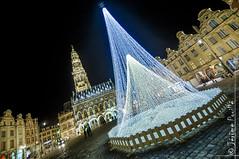 Places d'Arras, nol 2014 (jeje62) Tags: france place illuminations noel unesco lightning nordpasdecalais dri hdr arras