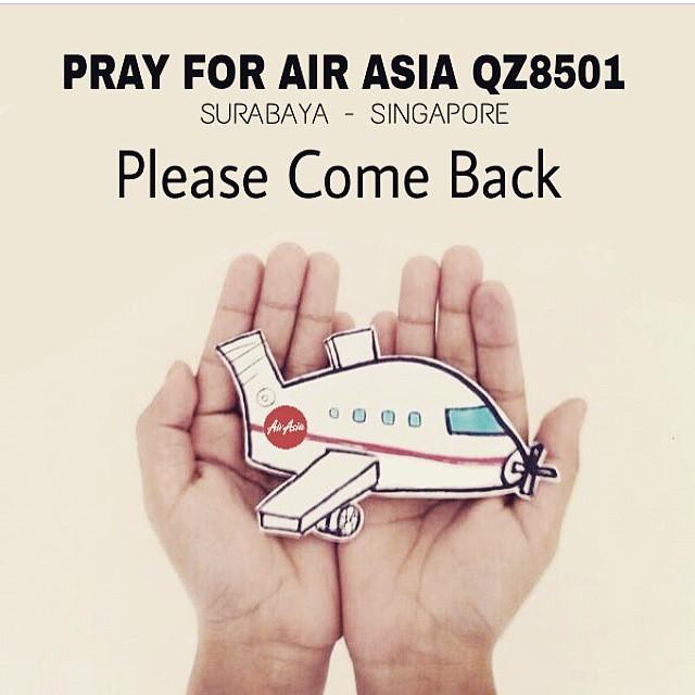 #QZ8501 #AirAsia