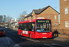 Rare: Route E2, Metroline, DE1010, LK09ENM (Jack Marian) Tags: bus london buses alexander dennis rare e200 enviro metroline alexanderdennis enviro200 greenfordbroadway alexanderdennisenviro200dart routee2 de1010 rareworking lk09enm brentfordcommerceroad