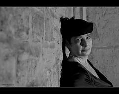 die Lady (geka_photo) Tags: portrait bw fashion deutschland hut heike braunschweig niedersachsen schwarzweis gekaphoto