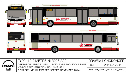 SMRT MAN A22 MCV Demonstrator