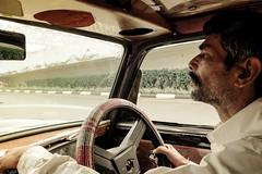Taxi driver, Mumbai, India, 2012
