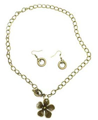 5th Avenue Brass Necklace P2441A-2