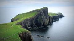 Neist Point, Isle of Skye (PeterCH51) Tags: sea lighthouse seascape skye landscape coast scotland scenery isleofskye cliffs peninsula neistpoint peterch51