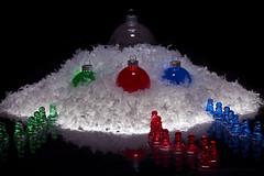 Dcorations Nol 2014 - Dcorations rcentes - 13 (Spock2029) Tags: christmas xmas blue light red snow green rouge lumire decoration noel vert bleu ornament neige nol decor dcoration tabletop