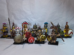 Greeks United (SecutorC) Tags: greek starwars fighter lego roman dwarf fantasy future demon warhammer warrior samurai minifig custom viking orc dwarves spartan gladiator samuraix apoc customx gox customlego fighterx fantasyx soldierx romanx starwarsx greekx steampunkx warriorx skyrimx dwarfx warhammerx appocx dwarvesx
