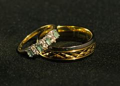 Rings of Love (hutchyp) Tags: light macro love gold close box diamond rings