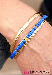 Glimpse of Malibu Blue Bracelet K2 P9511-5
