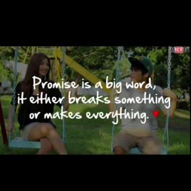 Promise is A BIG WORD. ❤ @jamich @jamich @jamich  #pinkyswear harthart♥
